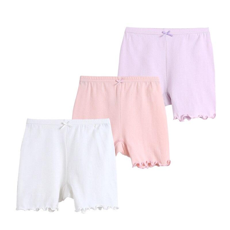 Hell 3 Stücke Ein Los Mischen Farbe Baumwolle Mtaerial Weiß Leggings Für Mädchen 9441