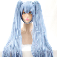 LIVA GIRL Snow Miku Cosplay Wig VOCALOID Costume Play Wigs Halloween Costumes Hair Free Shipping NEW