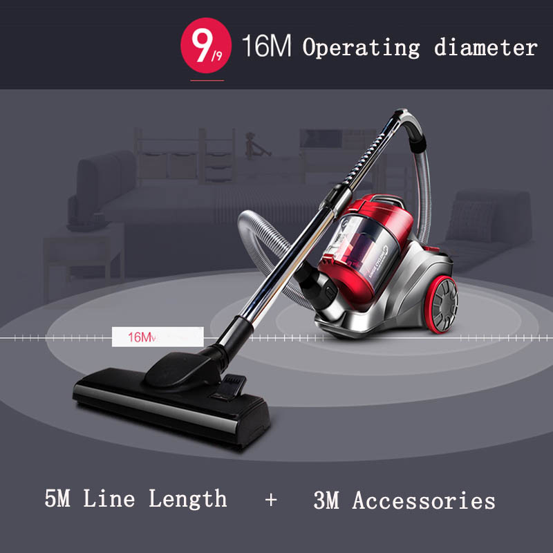 Aspirateur Ultra Silencieux C3, L148b Vacuum Cleaner Household Handheld Ultra Quiet