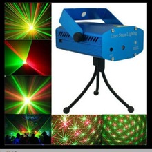 Acoustically Controlled Mini Laser Projector Stage Lamp Light Fulll of Stars Laser Light KTV Stage Equipment Party Lighting Lamp high quality mini ktv laser light sound laser stage light dynamic bar flash lamp