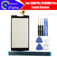5.5 inch OUKITEL K10000 Pro Touch Screen 100% Guarantee Original Glass Panel Touch Screen Digitizer For K10000 Pro+tool+Adhesive