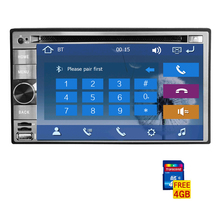 Radio MP4 FM AM Video Double Din Autoradio GPS Map Car DVD CD Stereo PC Navigator Touch Screen RDS Music System win8
