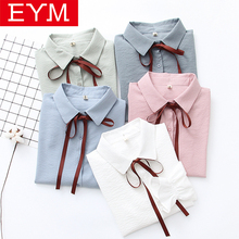 Bow Striped Blouse Women 2019 Autumn New Women Shirts Office Lady