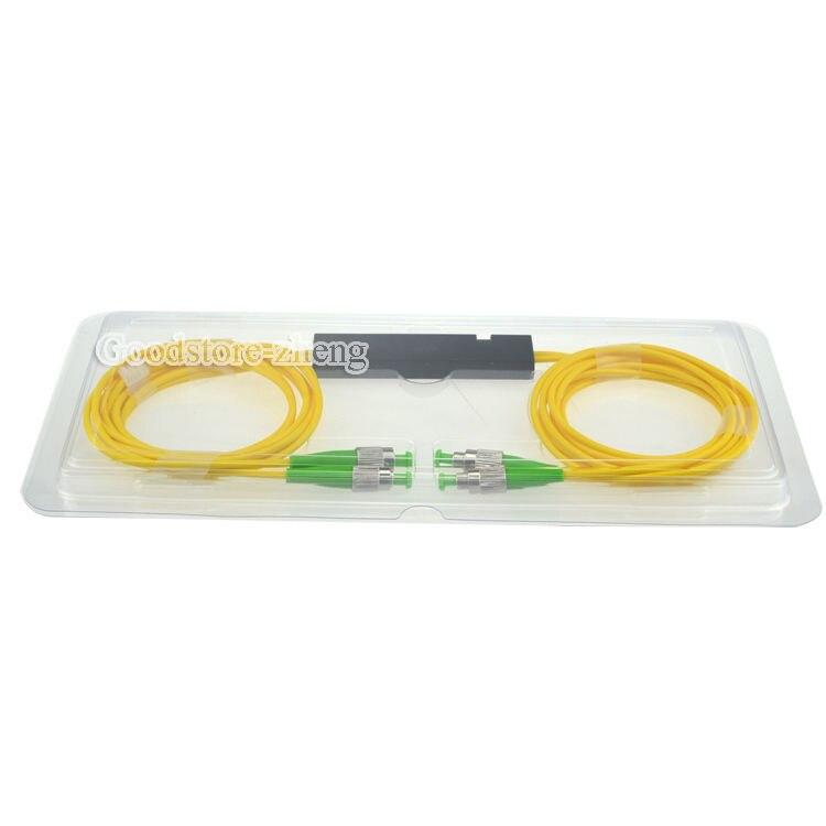 2x2 FC/APC Fiber Optic PLC Splitter Fiber splitters Fiber pigtails FBT splitters FC APC