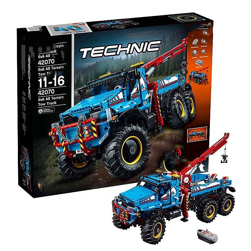 Série legoa Technic jeu de blocs de construction de modèle cascadeur télécommandé Compatible avec Legos 42095 jouets classiques 20096 - 4
