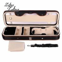 Zebra 4 4 Violion Box Violin Case With Humidity Table Straps Locks Waterproof