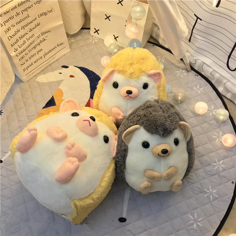 US $15 19 5% OFF|Cartoon Cute Japanese Hedgehog Doll Plush Toys Children's  Toys Birthday Gifts Home Decoration-in Dolls from Toys & Hobbies on