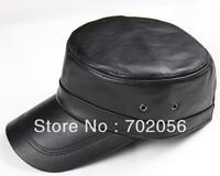 Mens Real Sheepskin Leather Visors Ball Caps Casual HAT CAP 12pcs Lot 3110