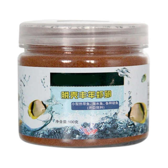 50/100/150g Brine Shrimp Healthy Nutrition Fish Food  5