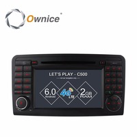 4G SIM LTE Android 6 0 4 Core Car DVD GPS For Mercedes ML Class W164