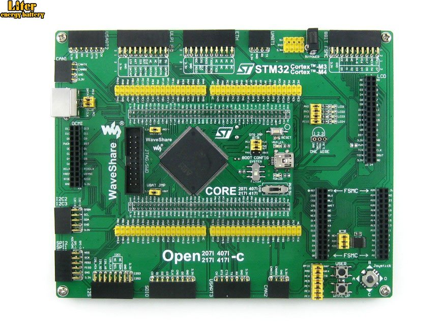 Carte de développement de Cortex-M4 de bras de carte STM32 STM32F407IGT6 STM32F407 + Kit de Module UART USB PL2303 = norme de Open407I-C