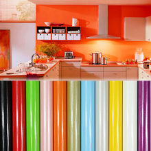 Home Decor Pink Paint Waterproof Vinyl Self Adhesive Film Decorative Desktop Wallpaper Roll For Kitchen Pvc Furniture Stickers(China)