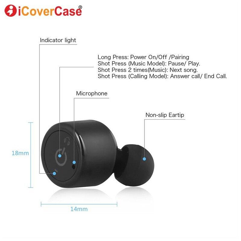 2PC Earphones For Huawei Honor 7X 7 Prime 7C 7A 6C Pro 6X 6A 5C 10 9 Lite  Mini 8 Bluetooth Headsets Twins Wireless Mini Earbuds