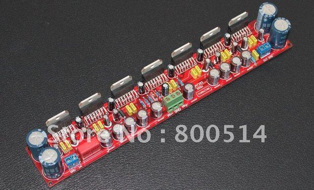 Assembled 555W Mono Power Amplifier board   7* TDA7293  In parallel