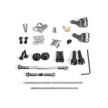 Upgrade Metall Getriebe Brücke Achse Für WPL C14/C24 JJRC B14/B24 Mit Schrauben RC Lkw RC Auto teile