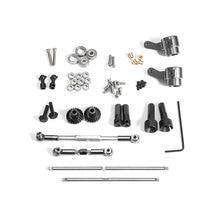 Wpl c14/c24 jjrc b14/b24 용 금속 기어 브릿지 액슬 업그레이드 rc 트럭 rc 자동차 부품