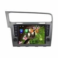 KLYDE 8 1 Din Android 8,0 1024*600 dvd плеер автомобиля 8 Core для VW Golf 7 2013 аудио стерео радио автомобильный мультимедийный плеер