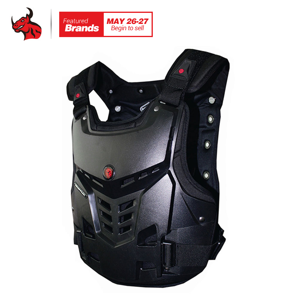 SCOYCO Motorcycles Motocross Chest &Back Protector Armor Vest Racing Protective Body-Guard Armor Motocross Off-Road Racing Vest