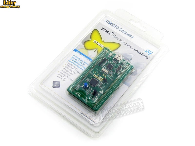 STM32F0DISCOVERY STM32F051R8T6 STM32F051 זרוע Cortex-M0 STM32 הערכה פיתוח  לוח