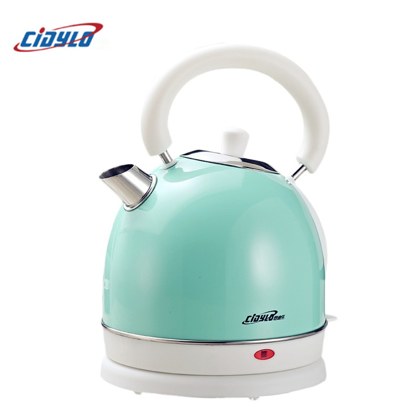 cidylo YK-823 220v Electric kettle Automatic power off kettle 304 stainless steel Electric kettle for home kitchen appliances все цены
