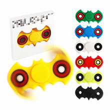 New Batman Hand Spinner fidget Luminous gyro spinner stress cube HandSpinner Focus Keep Kid and ADHD EDC Anti Stress Autism Toys