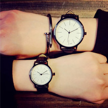 Retro genuine leather Korean fashion Simple trend men women
