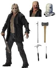 Deluxe Edition Friday The 13th Jason NECA PVC Action Figure Modelo Boneca Brinquedos(China)