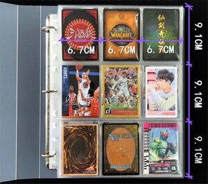 Image 2 - 900 Thẻ Dung Lượng Thẻ Giá Đỡ Chất Kết Dính Album Cho CCG MTK Magic Yugioh Bảng Trò Chơi Thẻ Quyển Sách Giá Đỡ
