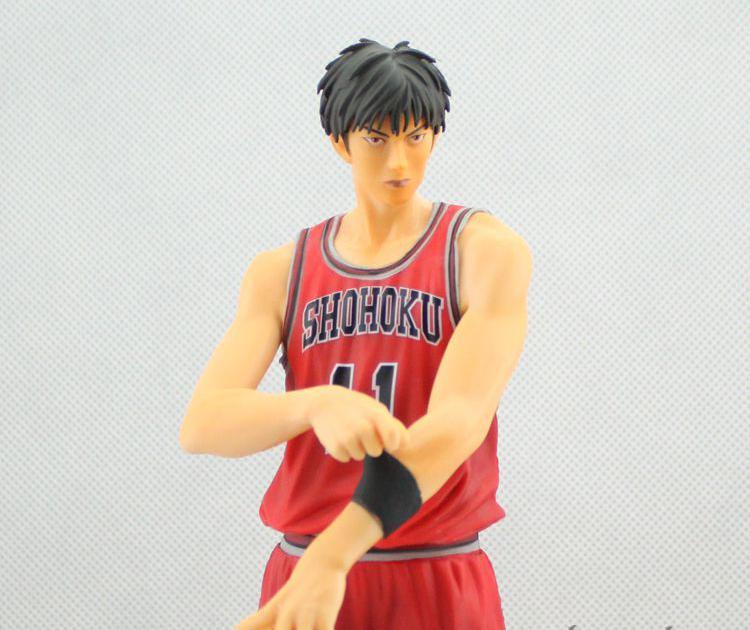 ФОТО 2017 Slam Dunk Kaede Rukawa action Figures Japanese Anime Figure Hot Toys Pvc Cartoon Figure Kid Gift Brinquedo Free Shipping