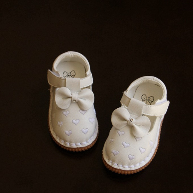 baby girls First Walkers Fashion New Styles PU Leather Infant Toddler Newborn Baby Children Crib bow Soft Moccs Shoes Footwear79