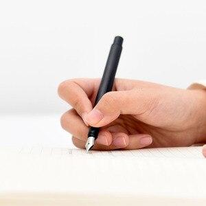 Image 3 - Xiaomi mijia kaco 万年筆高級セット黒 0.5 ミリメートル f ペン先スチールインクペンシンプルな署名ペン書き込みペン収納ボックス