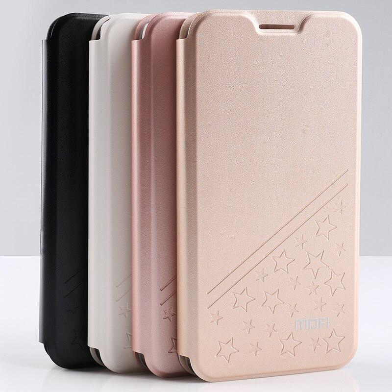 Nouvelle Star À Motifs Mofi Couverture En Cuir de Luxe Antichoc Cas Pour Xiaomi Redmi 5 (5.7 )/Redmi 5 Plus 5.99 pouces Téléphone Sac Cas