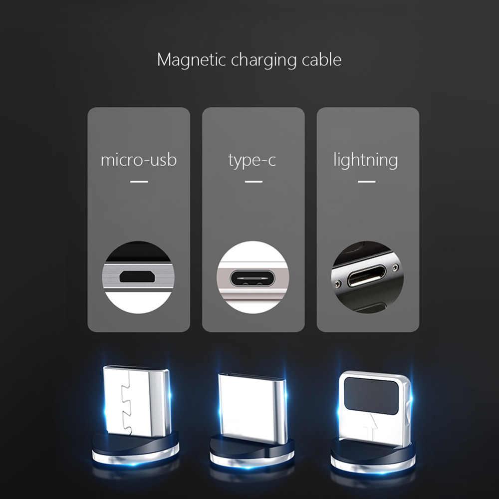 Cable magnético Micro usb tipo C adaptador de carga rápida Microusb tipo C cargador de imán USB C para iphone Huawei Samsung xiaomi