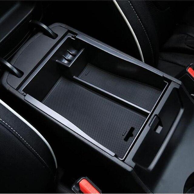 car styling center console accoudoir bo te de rangement bo te gants organisateur pour hyundai. Black Bedroom Furniture Sets. Home Design Ideas