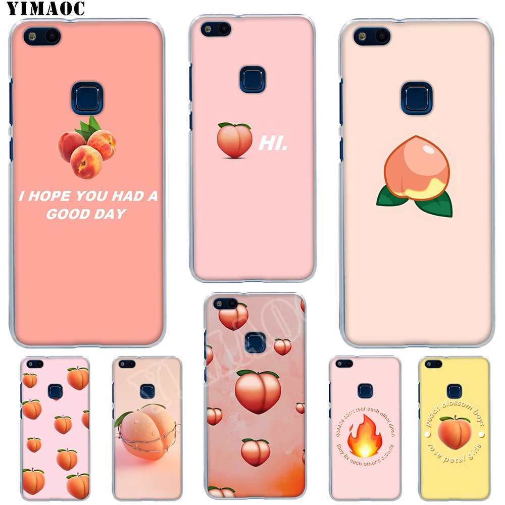 YIMAOC peach blossom boys Soft TPU Cover for Huawei Honor 6A 7X 7A Pro 8C Mate 10 Note 10 9 Lite Y6 Y9 Y7 Prime 2018 Cases