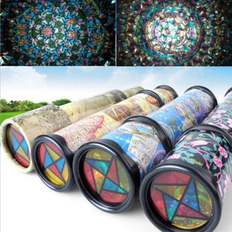 Vintage Kaleidoscope Children Kids Educational Science Toy Classic Toy Gifts Christmas Party Holiday DIY Decoration