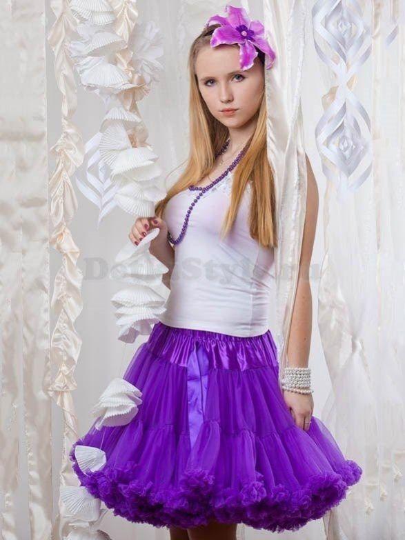 Online Shop Retail Evening Dress robe de soiree Teen Girls Petti ...