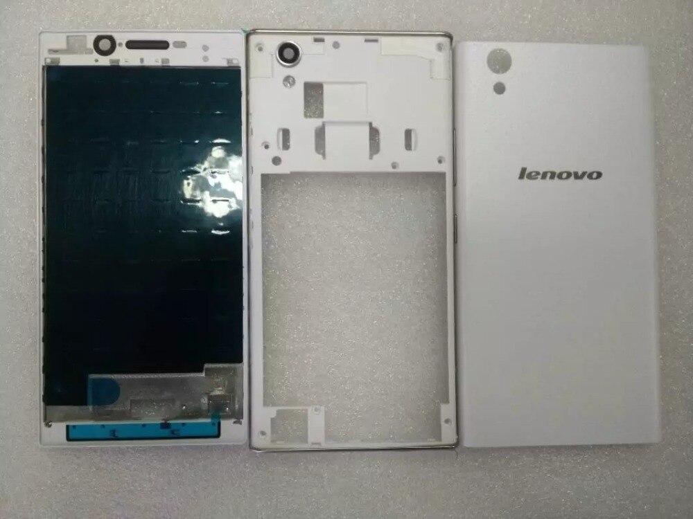Original Full Housing For Lenovo P70 Back Battery Cover Middle Frame Front LCD Supporting Frame Bezel