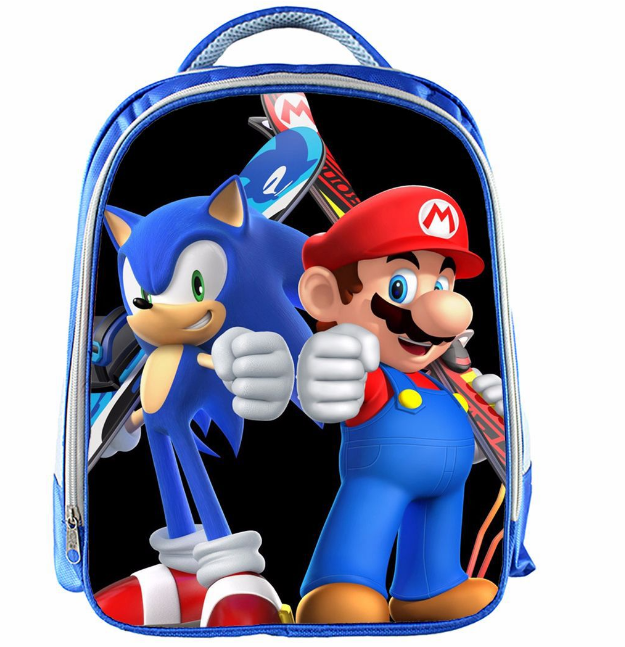 13 Inch Cartoon Sonic Backpack 10