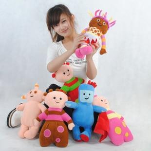 """Dans la nuit jardin doux poupée bébé en peluche classique poupée 18 """"hauteur peluche et jouets en peluche poupées 6pcs / set"""