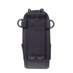Image 3 - 2Pcs MSC 20D Nylon Multi Funktion Tasche Tasche Holster Tragen Fall für BaoFeng UV 5R UV 82 TYT Mototrola Walkie Talkie