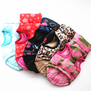 Image 1 - 1pcs Puppy Dog Coat Jacket Clothes For Dogs Pet Dog Clothes Vest Harness Apparel French Bulldog Yorkshire Terrier Honden Kleding
