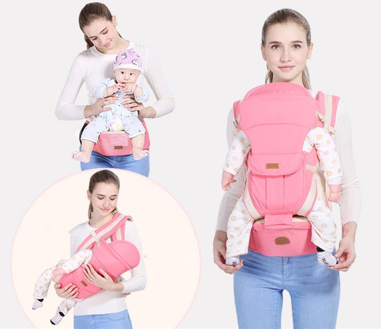 Removable Breathable Ergonomic carrier backpack Portable infant baby carrier baby sling backpack Kangaroos children wrap