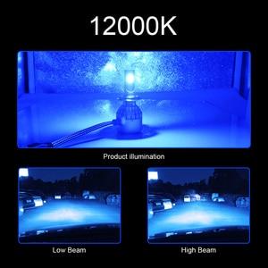 Image 4 - CROSSFOX bombilla LED para faro delantero de coche, 12V, 6000K, 880, H4, H1, H3, H8, H9, H11, 12000K, 9005, HB3, 9006, HB4, H7, 9004, 9007