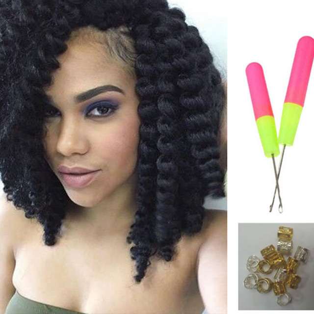Marley Twists With Jumbo Braid Hair - Braids