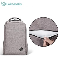 Leke Le Engraved Mummy Bag Backpack Multifunctional Mother Bag To Go Out Of Fashion Women Backpack
