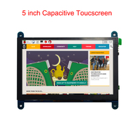 Raspberry Pi 3 Model B+ LCD Screen Touchscreen 5 inch Capacitive 800*480 Display Module for Raspberry Pi 3 Model B+/3B