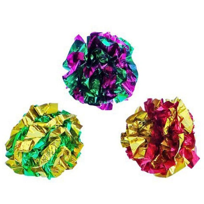 12 ԱՀ Creative Design Multicolor Balls Cat Toys Happy - Ապրանքներ կենդանիների համար