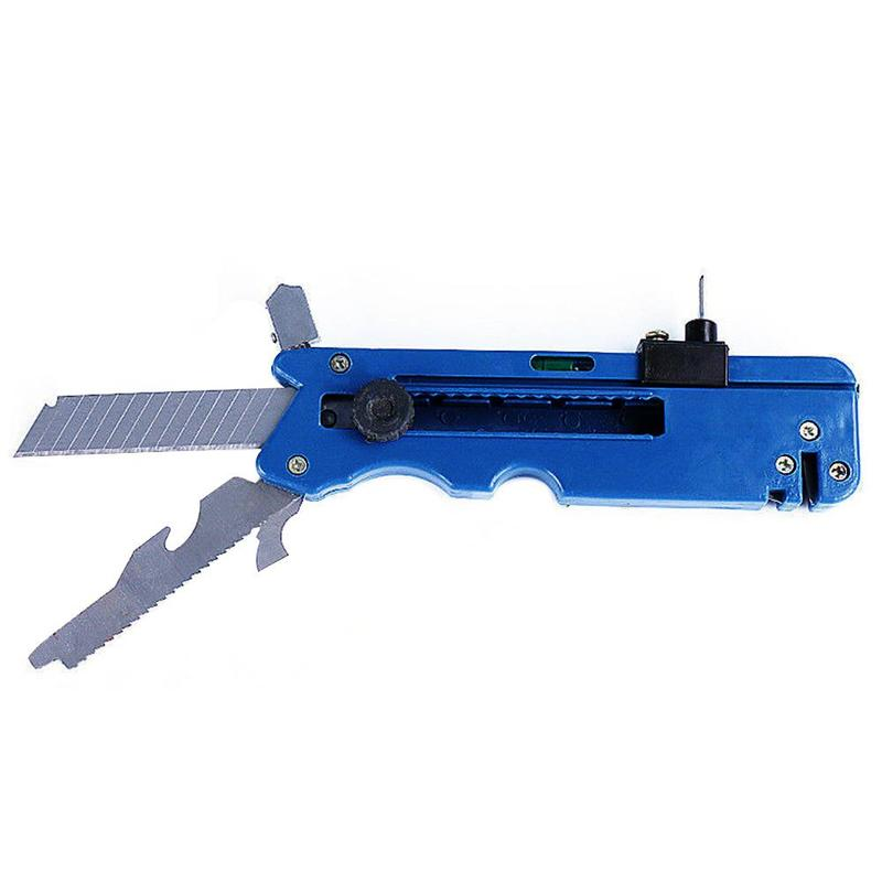 Professiona Glass Six Wheel Metal Cutting Kit Tool With Measure Ruler Drop Shipping Multifunction Glass Tile