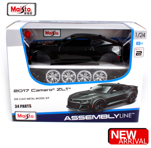 Aliexpress Com Buy Maisto 1 24 2017 Camaro Zl1 Assembly